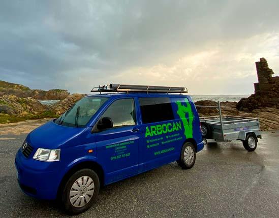 Arbocan, trabajos de talas y podas en Cantabria